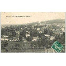 carte postale ancienne 88 GERARDMER. Coteau des Xettes 1908