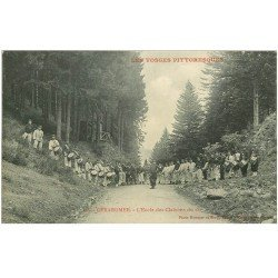 carte postale ancienne 88 GERARDMER. Ecole des Clairons et Tambours du 152 Régiment Militaires