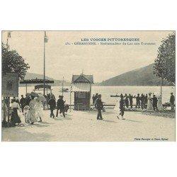 carte postale ancienne 88 GERARDMER. Embarcadère du Lac aux Trexeaux