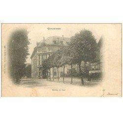 carte postale ancienne 88 GERARDMER. Hôtel du Lac 1903