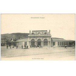 carte postale ancienne 88 GERARDMER. La Gare