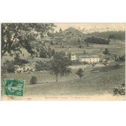 carte postale ancienne 88 GERARDMER. La Roche du Page 1913