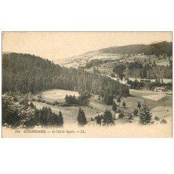 carte postale ancienne 88 GERARDMER. Le Col de Sapois