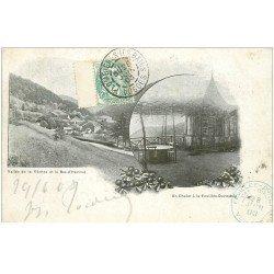 carte postale ancienne 88 LA FEUILLEE DOROTHEE. Le Val d'Ajol 1903 Vallée Vèches et Bas Hérival un Chalet