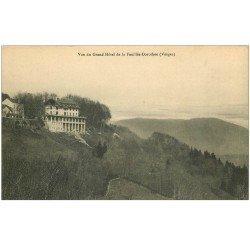carte postale ancienne 88 LA FEUILLEE DOROTHEE. Le Val d'Ajol Grand Hôtel avec addition au verso