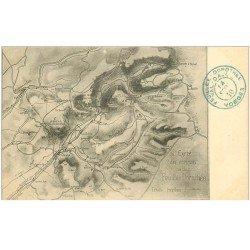 carte postale ancienne 88 LA FEUILLEE DOROTHEE. Le Val d'Ajol la carte des environs Tampon uniquement 1910
