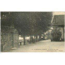 carte postale ancienne 88 PLOMBIERES LES BAINS. Animation à la Feuillée Dorothée