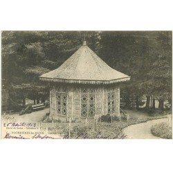 carte postale ancienne 88 PLOMBIERES LES BAINS. Chalet Laiterie 1903