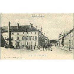 carte postale ancienne 88 SAINT DIE. Le Tribunal Place Stanislas