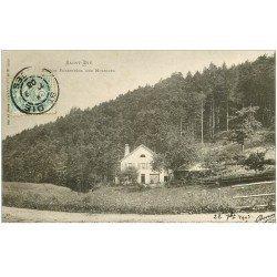 carte postale ancienne 88 SAINT DIE. Maison Forestière des Molières 1903