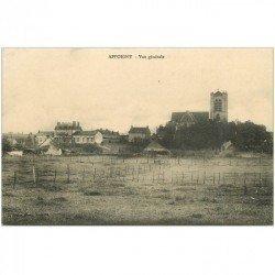 carte postale ancienne 89 APPOIGNY. Vue sur le Village