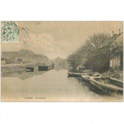 carte postale ancienne 89 AUXERRE. Les Ocreries 1906
