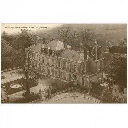 carte postale ancienne 89 BRIENON SUR ARMANCON. Le Château 1931