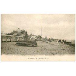 carte postale ancienne 14 LION-SUR-MER. La Plage 274