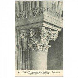 carte postale ancienne 89 VEZELAY. Basilique Magdalen Basilic