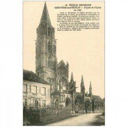 carte postale ancienne 89 VEZELAY. Saint Père sous Vezelay Eglise