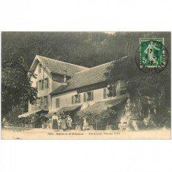 carte postale ancienne 90 BALLON D'ALSACE. LE PUIX. Restaurant Tourtet Kolb 1912