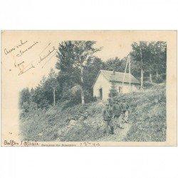 carte postale ancienne 90 BELFORT. Baraques des Douaniers 1903