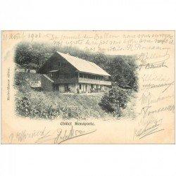 carte postale ancienne 90 BELFORT. Châlet Bonaparte 1901