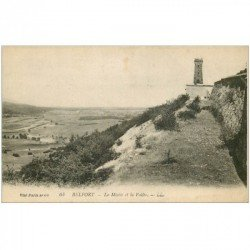 carte postale ancienne 90 BELFORT. La Miotte et la Vallée