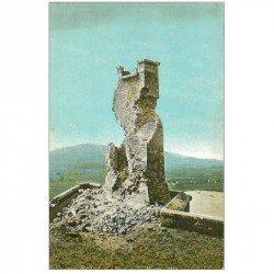 carte postale ancienne 90 BELFORT. La Tour de la Miotte 1918