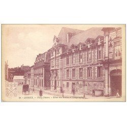 carte postale ancienne 14 LISIEUX. Hôtel des Postes et Télégraphes avec vespasiennes