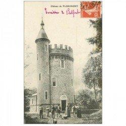 carte postale ancienne 90 CHATEAU DE FLORIMONT 1911. Verso vierge