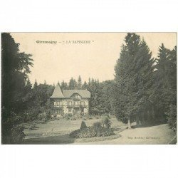 carte postale ancienne 90 GIROMAGNY. La Sapinière 1914