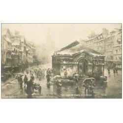 carte postale ancienne 14 LISIEUX. Jour de dégel par Fraipont en 1901