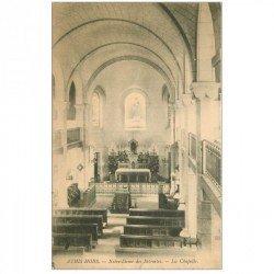 carte postale ancienne 91 ATHIS MONS. La Chapelle de Notre Dame des Retraites