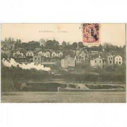 carte postale ancienne 91 ATHIS MONS. Le Coteau vers 1905
