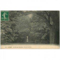 carte postale ancienne 91 ATHIS MONS. Notre Dame des Retraites à l'Entrée du Parc