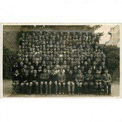 carte postale ancienne 91 ATHIS MONS. Rare Photo Carte Postale Collège Saint Charles 1952. Ecoliers et Elèves