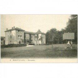 carte postale ancienne 91 BLIGNY. L'Observatoire 1916 animation