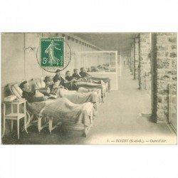 carte postale ancienne 91 BLIGNY. Malades en Cure d'Air 1907