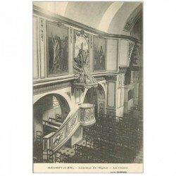 carte postale ancienne 91 BRUNOY. La Chaire de l'Eglise