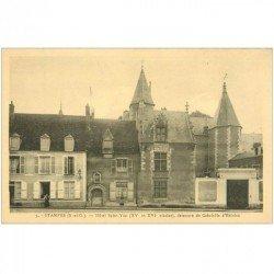 carte postale ancienne 91 ETAMPES. Hôtel Saint Yon Gabrielle Estrées