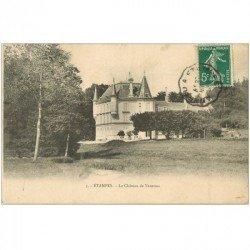 carte postale ancienne 91 ETAMPES. Le Château de Vauroux 1910