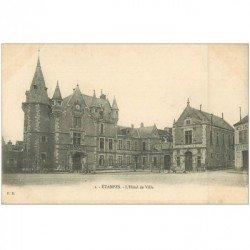 carte postale ancienne 91 ETAMPES. L'Hôtel de Ville n°1