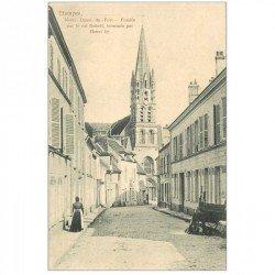 carte postale ancienne 91 ETAMPES. Notre Dame du Fort vers 1900