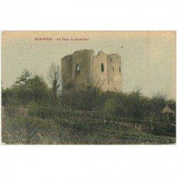 carte postale ancienne 91 ETAMPES. Tour de Guinette en couleur