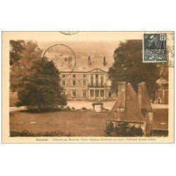 carte postale ancienne 14 LIVAROT. Château de Neuville 1931