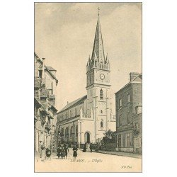 carte postale ancienne 14 LIVAROT. L'Eglise 1908