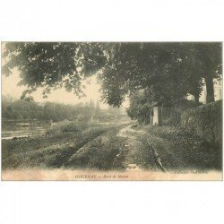 carte postale ancienne 93 GOURNAY SUR MARNE. Bord de Marne 1916