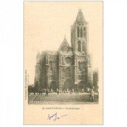 carte postale ancienne 93 SAINT DENIS. La Basilique 1902