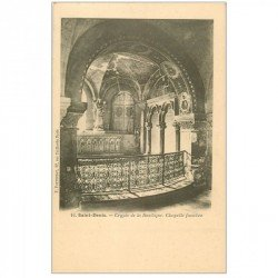 carte postale ancienne 93 SAINT DENIS. La Basilique Abbaye Chapelle funèbre