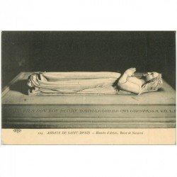 carte postale ancienne 93 SAINT DENIS. La Basilique Abbaye Tombeau Blanche d'Artois