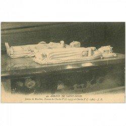 carte postale ancienne 93 SAINT DENIS. La Basilique Abbaye Tombeau Jeanne de Bourbon 49