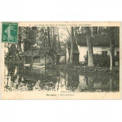 91 SAVIGNY-SUR-ORGE. Rêve d'Artiste vers 1909. Les Bords de l'Orge de Savigny à Lormoy Saint-Michel. Edition Thévenet