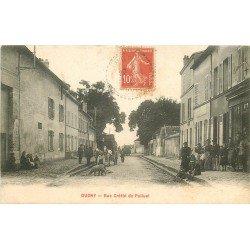 93 DUGNY. Diligence rue Cretté de Palluel 1906